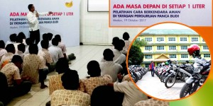 ROAD SAFETY EDUCATION DI SMK PANCA BUDI 1 MEDAN BERSAMA SHELL INDONESIA