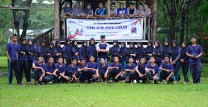 PELATIHAN LEADERSHIP TRAINING AND CHARACTER BUILDING OSIS SMK PANCA BUDI MEDAN