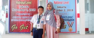 RYAN ATHAYA SYAUQI IKUTI GENIUS ENGLISH MATH SCIENCE OLYMPIAD (GESMO) 2019 TINGKAT NASIONAL